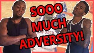 SOOO MUCH ADVERSITYH! - NBA 2K15 Wager Feat. Juice