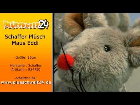 Plüschwelt24 - Schaffer Plüsch Maus Eddi