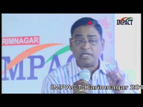 Career Guidance Suresh TELUGU IMPACT Karimnagar 2016