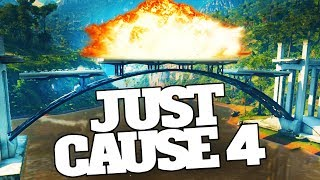 Blowing Up Bridges That Don't Want To Be Blown Up in Just Cause 4