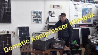 Smarte Dometic Kompressor-Kühlbox im Solarbetieb