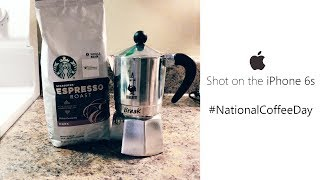 Shot on the iPhone: (late) #NationalCoffeeDay