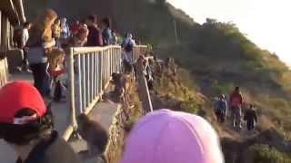 Gunung Batur 2014 (Part 2 - Sunrise di Puncak Gunung Batur)