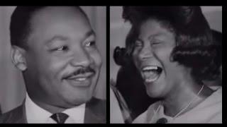 Mahalia Jackson singing & Martin Luther King Jr  preaching at Church