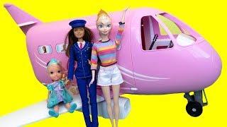 Airplane ! Elsa in Barbie