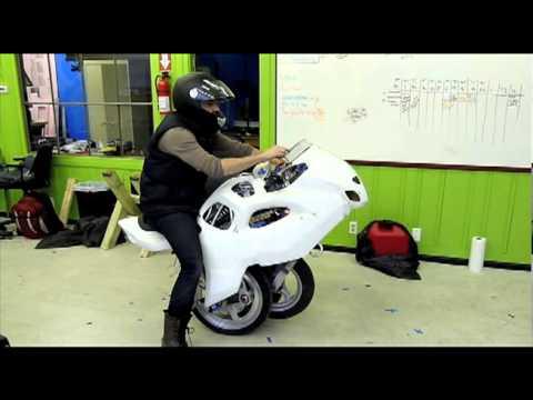 Katlanabilir motosiklet geliştirildi