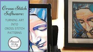 Turning Artwork Into Cross Stitch Patterns Using MacStitch/WinStitch Cross Stitch Software