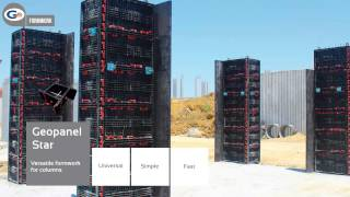 Geoplast Formwork: reusable system in ABS - English