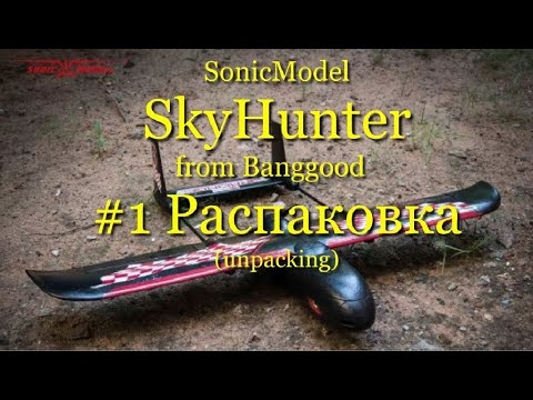 SonicModell SkyHunter Racing 787mm from BANGGOOD