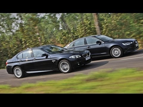 2014 BMW 5 Series vs Audi A6 in India Audi Videos