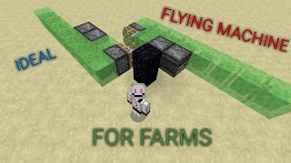 how to make a simple flying machine in minecraft - Free