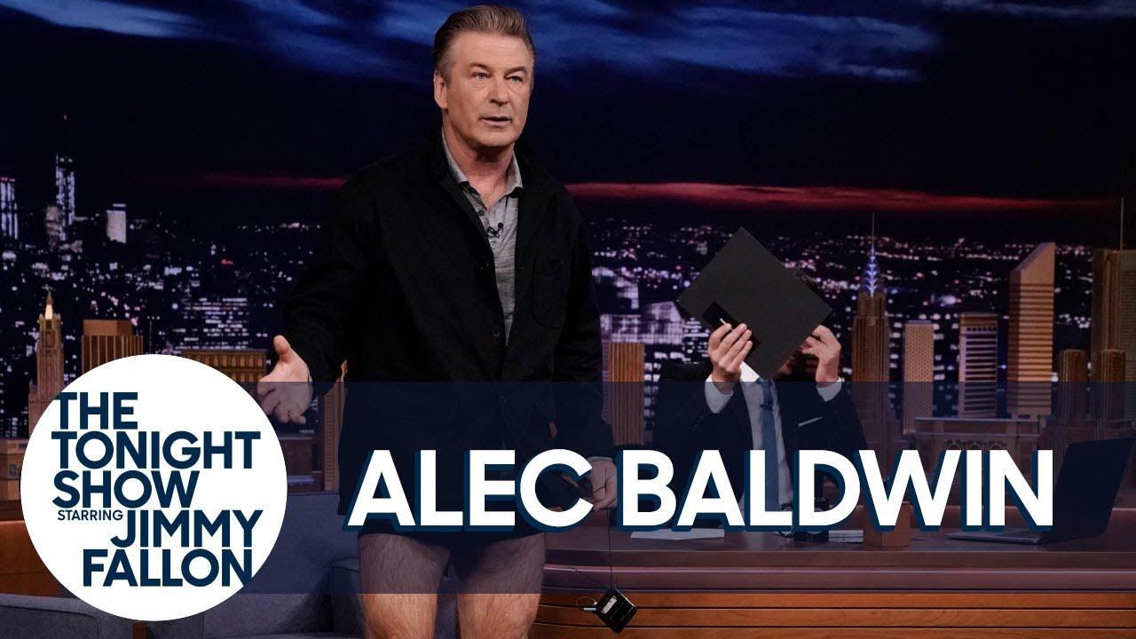 AlecBaldwinDrops His Pants to Prove His Weight Loss thumbnail