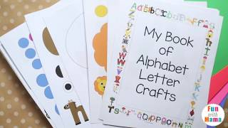 ABC Book Alphabet Letter Crafts