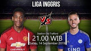 VIDEO: Live Streaming Liga Inggris Manchester United Vs Leicester Sabtu (14/9) Pukul 21.00 WIB