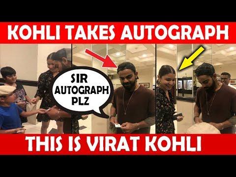 Virat Kohli takes Autograph from a Little Fan | This is Virat Kohli ❤ | IND vs SA 3rd T20I