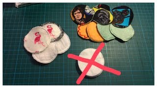 Abschminkpads/ Kosmetikpads (2 Alternativen, wiederverwendbar, waschbar)