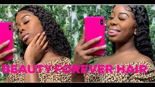 """The 'Wet Look' Tutorial 24"""" Malaysian Curly Wig  Beauty Forever Hair"""