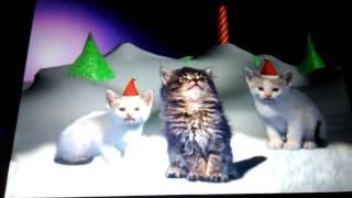 Котята поют про новый год