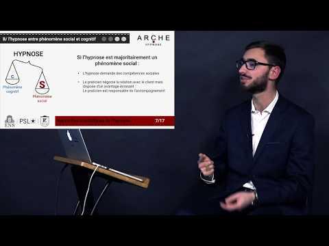 , title : 'Les approches scientifiques de l'hypnose - Dissociation et influence sociale - Hypnologie 2019'