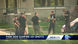 Shots fired near playground