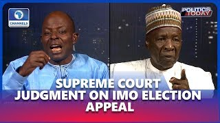 Imo: APC's Obun, PDP's Galadima Trade Words Over Supreme Court's Judgment