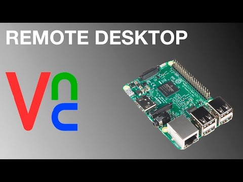 Raspberry Pi Remote Desktop using VNC
