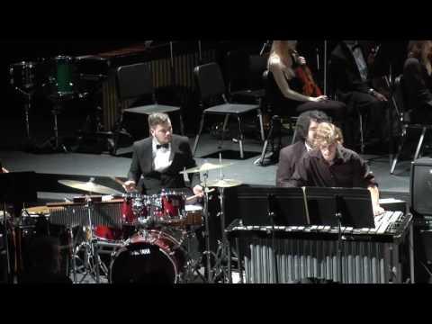 Performance on drums at Jazz Ensemble