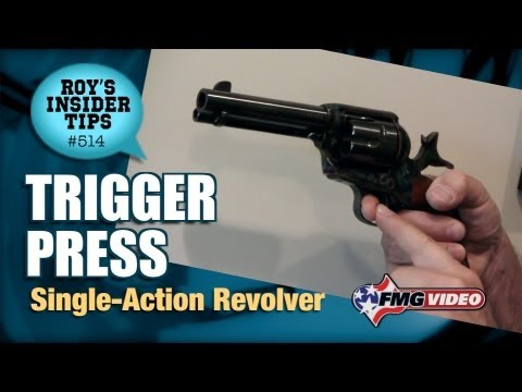 Trigger Press: Single-Action Revolver