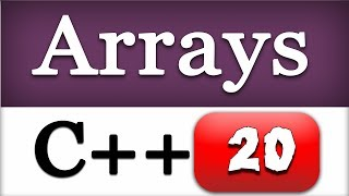 Download Youtube: Introduction to ARRAYS in CPP | C++ Video Tutorial