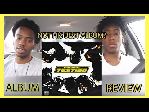 "A$AP Rocky  ""Testing"" Album Review 
