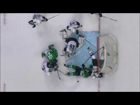 Schenn saves sure goal with spectacular goal line play