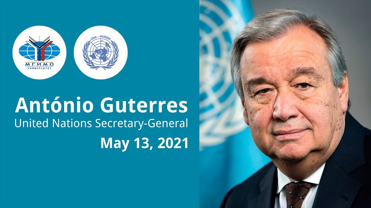 MGIMO Awards Honorary Doctorate to UN Secretary-General António Guterres
