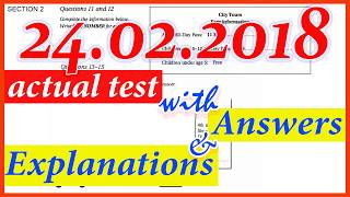 IELTS LISTENING PRACTICE TEST 2018 WITH ANSWERS | 24.02.2018