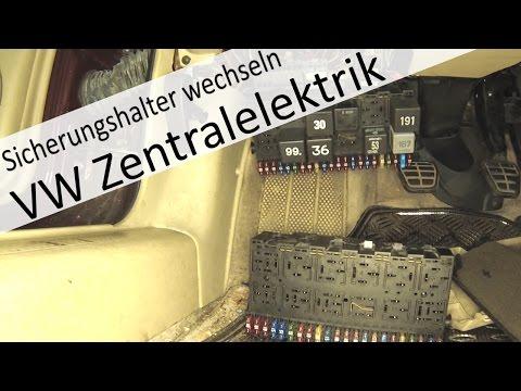 VW Zentralelektrik / Sicherungs und Relaishalterung wechseln wie und warum eigentlich?