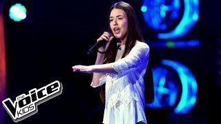 """Daria Adachowska – """"If I Ain't Got You"""" – Przesłuchania w ciemno – The Voice Kids Poland"""