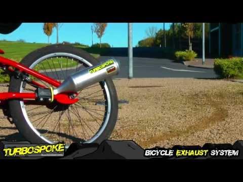 Fahrrad-Auspuff Turbospoke  - Tuning für Fahrräder