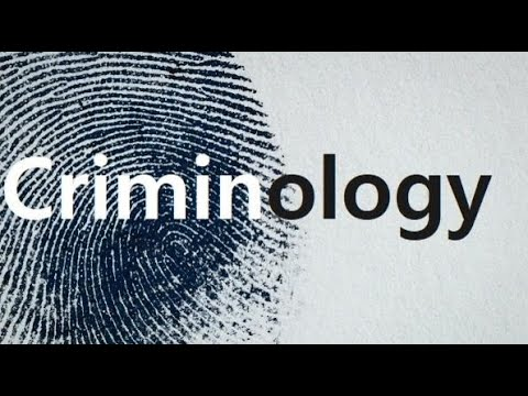 Introduction to Criminology- Lesson 1