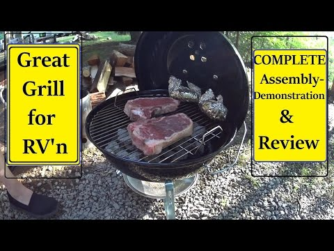 Weber Jumbo Joe Portable Grill review