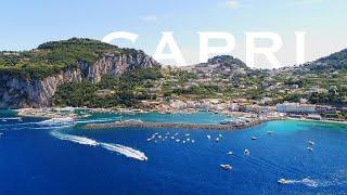 Capri Island, South Italy 4K - Drone