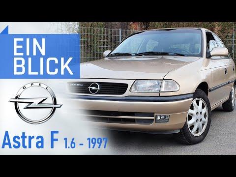 Opel Astra F 1.6i 1997 - Neuer Name, alte Stärken... und Schwächen! Vorstellung & Kaufberatung