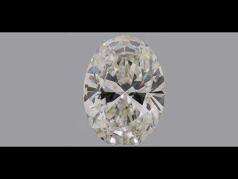 Oval Cut CVD Diamond 1.63ct J VS1 IGI Certified