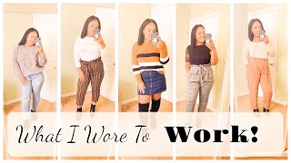 OUTFITS OF THE WEEK 2019! FALL WORK OUTFIT INSPO! | Jessica Noelle