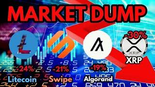 Price Update   Swipe (SXP) - Algorand (ALGO) - Litecoin (LTC) - XRP   SELL OFF