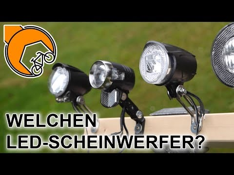 Fahrrad-Scheinwerfer: Halogen, Linkbest, Axa oder Busch & Müller?