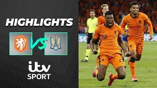 HIGHLIGHTS   Netherlands snatch win after Yarmolenko's screamer!   Euro 2020