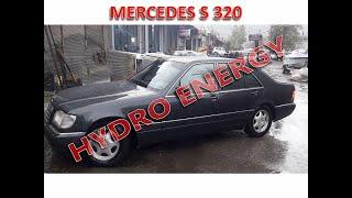 Mercedes S320 long hidrojen yakıt sistem montajı