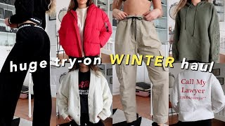 winter try-on clothing haul! 2019