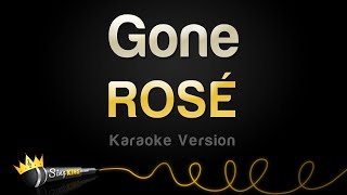 ROSÉ - Gone (Karaoke Version)