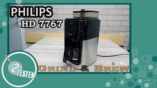 Philips HD 7767 Grind & Brew   Test, Reinigung des Mahlwerks, Tipps & Funktion   2testen deutsch