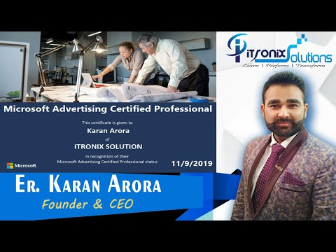 How to Get Microsoft Advertising Certified Professional Certificate ...